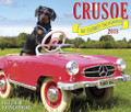 2018  Crusoe The Celebrity Dachshund Daily Desk Box Calendar