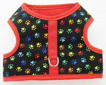 Mini Multi Paws Dachshund Harness Vest Design