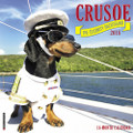 2018 Crusoe the Celebrity Dachshund 12x12 Large 18 Month Calendar