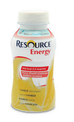 Resource Energy Vanilla 4 x 200ml