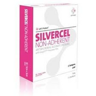 SILVERCEL NON-ADHERENT Antimicrobial Alginate Dressing 5cm x 5cm (x10)