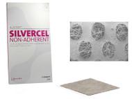 SILVERCEL NON-ADHERENT Antimicrobial Alginate Dressing 10cm x 20cm (x10)