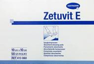 Zetuvit E Non-sterile dressing pad 10cm x 10cm (x50)