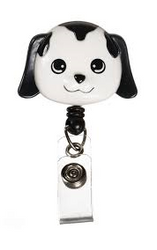 Dog - Deluxe Retractable ID Holder / Key tag