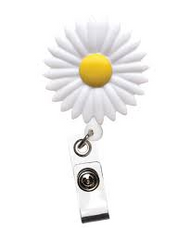 Daisy - Deluxe Retractable ID Holder / Key tag