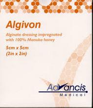 Algivon dressing 5cm x 5cm (x5)