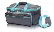 ELITE GP's Medical bag (Grey/ Turquoise) - Ref:  EB06.009