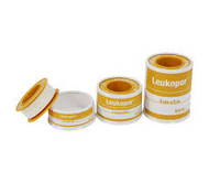 Leukopor hypo-allergenic surgical tape 5cm x 5m (x1)