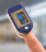 Guardian G-50D Finger Reading Pulse Oximeter (LCD multi-display)