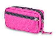 Elite Diabetic Cool Bag - Various Compartments for pens and equipment (Regal Pink)