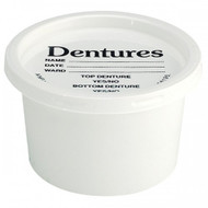 Disposable Denture Pot and Lid (x50)