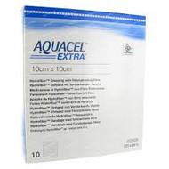 Aquacel EXTRA dressings 10cm x 10cm  (x10)