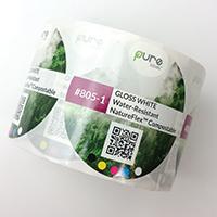 Bioplastic Water Resistant Compostable Labels
