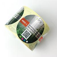Bioplastic Water Resistant Compostable Biodegradable Labels