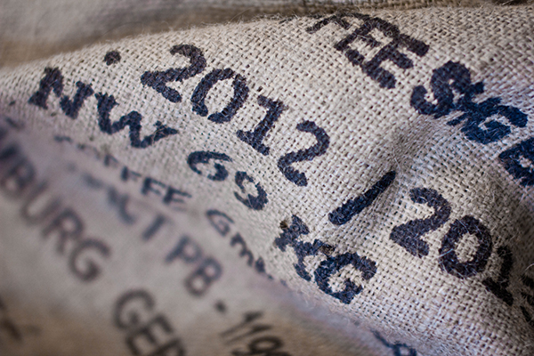 Kona Paper is made from recycled burlap coffee bean bags