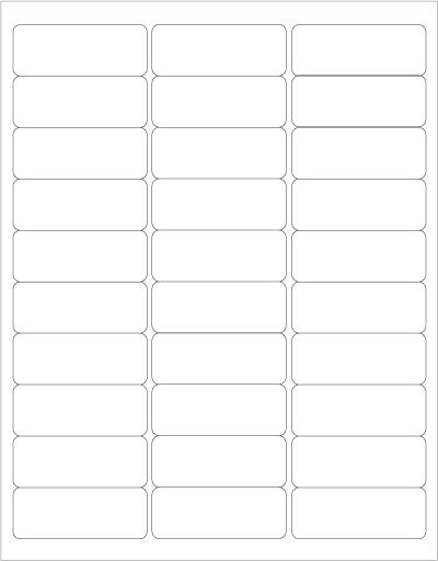 Eco-friendly Printable Blank Labels