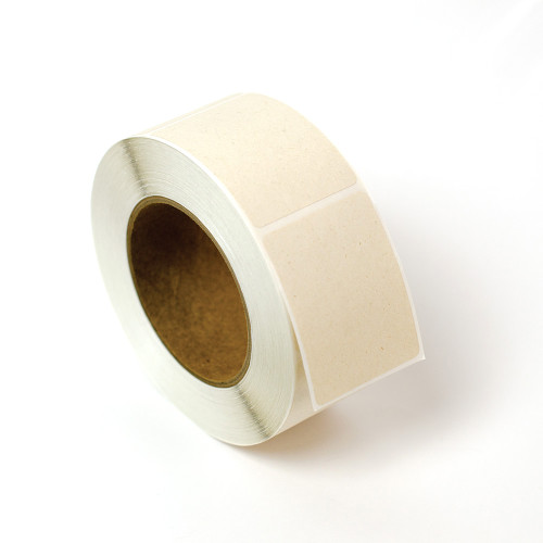 2x2.75 compostable blank labels on rolls