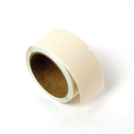 Compostable labels on roll