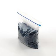 medium flat compostable zip bag
