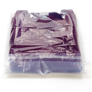 Compostable Retail bag with adhesive flap