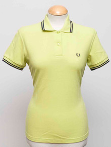 Original Twin Tipped Polo - Citron/Navy