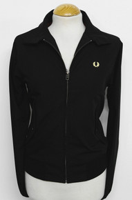 Womens Harrington Jacket - Black / Champagne
