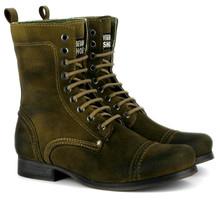 Vintage boot - Olive