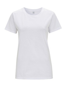 Organic T Shirt (Womens) - White