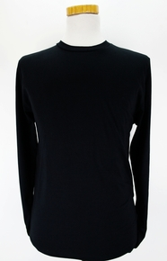 Organic Long Sleeve T Shirt - Black
