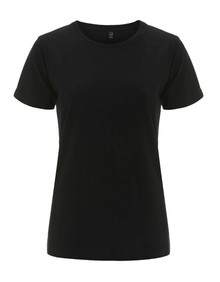 Organic T Shirt (Womens) - Black