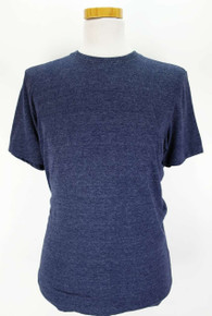 Recycled Classic Fit T - Melange Navy