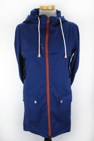 Organic Cotton Parka (Womens) - Navy