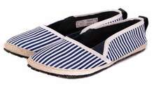 Asfa Slip on Stripe - Navy