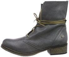 Lace Up Boot - Grey