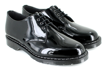 3 Eye Shoe - Black Patent