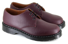 Three Eyelet Shoe - Burgundy