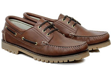 Deck Shoe - Chestnut