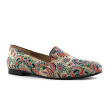 Slip On Flats - Lime Flower