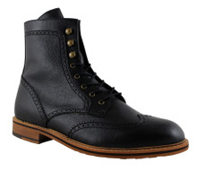 FAIR Brogue Boot - Black