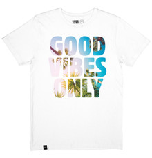 Good Vibes Only T Shirt - White