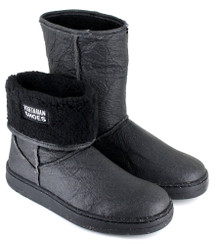 Snug Boot - Pinatex Black