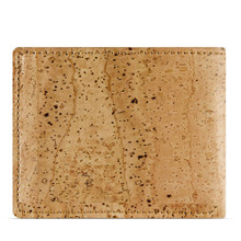 Slim Cork wallet - Light Brown