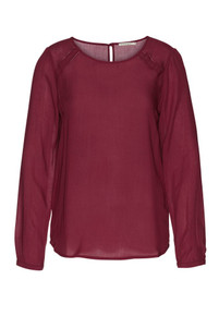 Simla Shirt - Cranberry Red