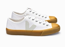 Mens Wata Canvas - White / Natural Sole