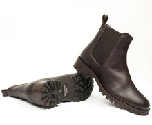Womens Chelsea Boot V2 - Dark Brown