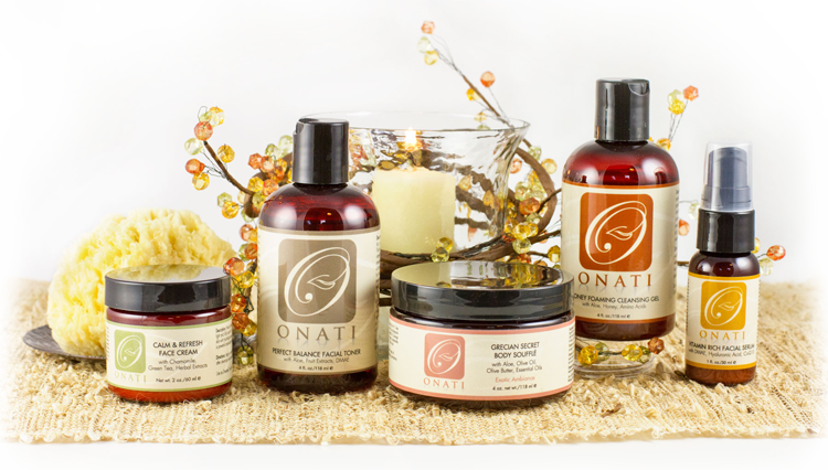 Natural Organic Skincare by ONATI