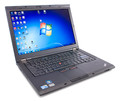 "Refurbished Lenovo ThinkPad T410 Intel Core i5-520M 2.4Ghz 4GB 320GB DVDRAM Webcam Wireless Windows 7 Pro Grade B 14.1"" wide 1440 x 900"