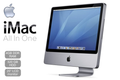 "A1224 Apple iMac Intel Core2 Duo P7350 2.00GHz 20"" Display 4GB RAM 160GB HDD Snow Leopard Grade B"
