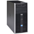 HP Compaq 6000 Pro Microtower Intel Core 2 Duo E8500 3.16GHz 4GB DDR3 500 DVD Windows 7 Professional  -  retail image for reference only