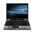 HP EliteBook 2540p Intel Core i7 L640  2.13GHz RAM 4GB HDD 160 GB DVD-RW Grade C Windows 7 Professional Scratched Lid